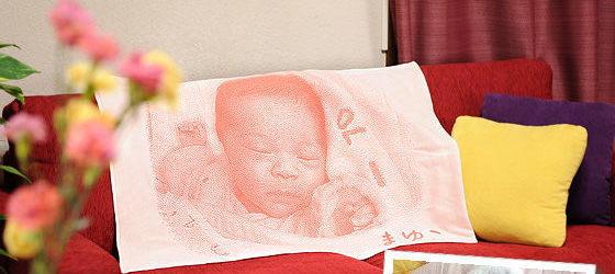 赤ちゃんの写真で作るグッズ