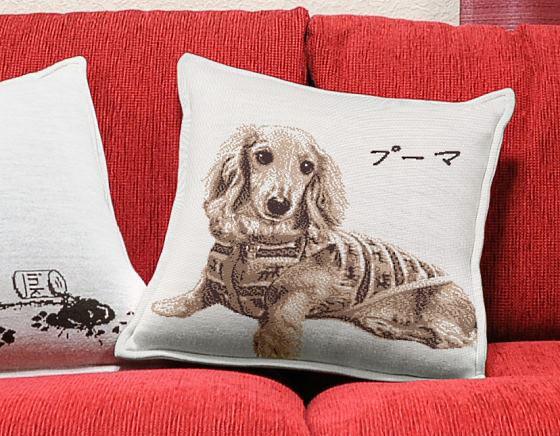 愛犬オリジナルクッション