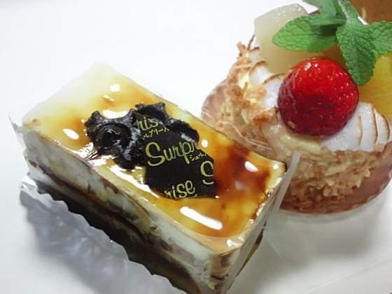 親の誕生日ケーキ
