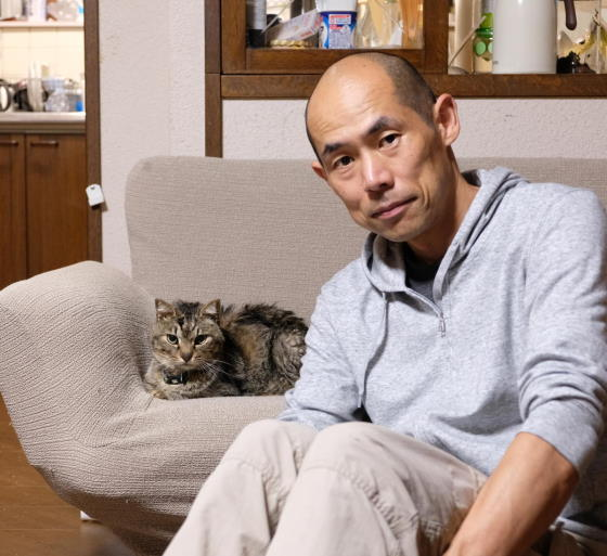 猫と僕、三浅俊幸