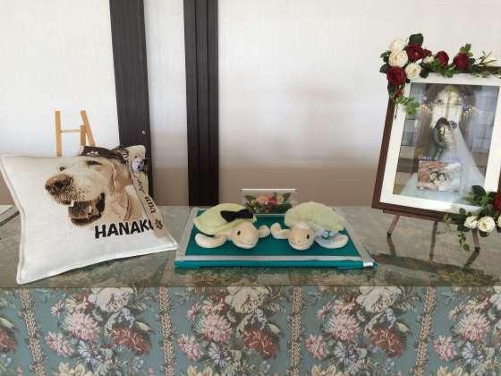 結婚祝いに使われるペットオリジナルグッズ