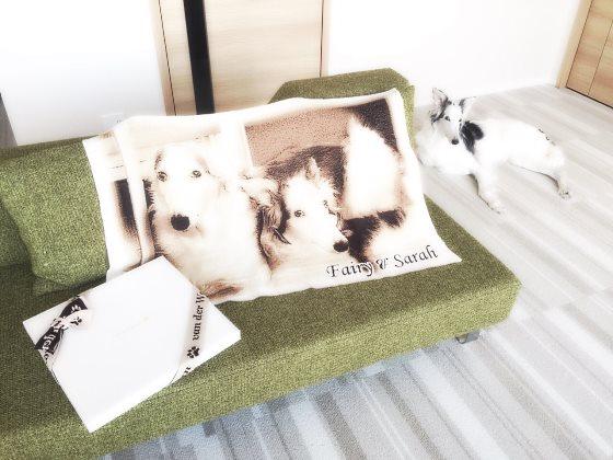 妹さんに贈った愛犬メモリアルグッズ