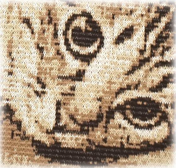 猫の編み物