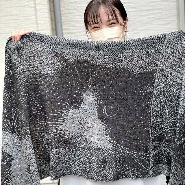 猫のショール